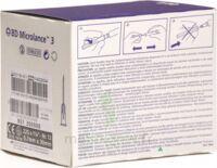 BD MICROLANCE 3, G22 1 1/4, 0,7 mm x 30 mm, noir  à SAINT ORENS DE GAMEVILLE