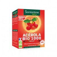 Santarome Bio Acérola 1000 Comprimés à Croquer 2t/10 à SAINT ORENS DE GAMEVILLE