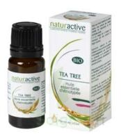 Naturactive Tea Tree Huile Essentielle Bio (10ml) à SAINT ORENS DE GAMEVILLE