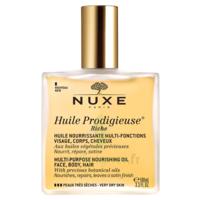 Huile prodigieuse® riche - huile nourrissante multi-fonctions visage, corps, cheveux100ml à SAINT ORENS DE GAMEVILLE