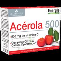 3 Chenes Phytotherapie Familiale Comprimés à Croquer Acérola 500 B/24 à SAINT ORENS DE GAMEVILLE