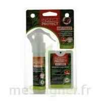 Insect Protect Spray Peau + Spray VÊtements Fl/18ml+fl/50ml à SAINT ORENS DE GAMEVILLE