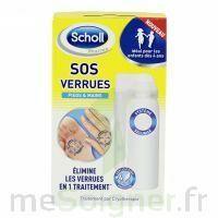 Scholl SOS Verrues traitement pieds et mains à SAINT ORENS DE GAMEVILLE