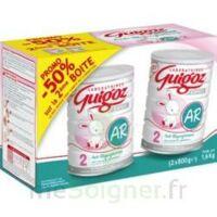 GUIGOZ LAIT EXPERT AR2 LOT DE 2X800GR à SAINT ORENS DE GAMEVILLE