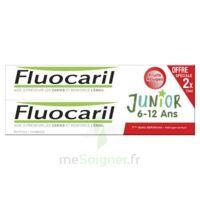 Fluocaril Junior Gel dentifrice Fruits rouges 6/12ans 2*75ml à SAINT ORENS DE GAMEVILLE