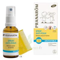 Pranarôm Aromapoux Bio Spray anti-poux 30ml+peigne à SAINT ORENS DE GAMEVILLE