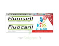Fluocaril Kids Gel dentifrice Fraise 0/6ans 2*50ml à SAINT ORENS DE GAMEVILLE