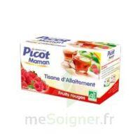 Picot Maman Tisane D'allaitement Fruits Rouges 20 Sachets à SAINT ORENS DE GAMEVILLE
