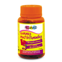 Pédiakid Gomme ourson multivitaminée orange cerise B/60 à SAINT ORENS DE GAMEVILLE
