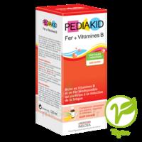 Pédiakid Fer + Vitamines B Sirop banane 125ml à SAINT ORENS DE GAMEVILLE