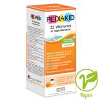 Pédiakid 22 Vitamines et Oligo-Eléments Sirop abricot orange 250ml à SAINT ORENS DE GAMEVILLE