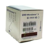 BD MICROLANCE 3, G26 5/8, 0,45 mm x 16 mm, brun  à SAINT ORENS DE GAMEVILLE