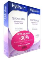 Hydralin Quotidien Gel lavant usage intime 2*400ml à SAINT ORENS DE GAMEVILLE