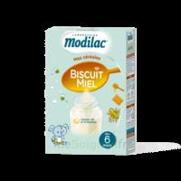 Modilac Céréales Farine Biscuit miel à partir de 6 mois B/300g à SAINT ORENS DE GAMEVILLE