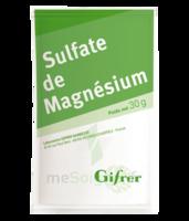 Gifrer Magnésium Sulfate Poudre 50 Sachets/30g à SAINT ORENS DE GAMEVILLE