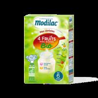 Modilac Céréales Farine 4 Fruits quinoa bio à partir de 6 mois B/230g à SAINT ORENS DE GAMEVILLE