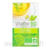 Vitaflor - Bio Tisane Tilleul 18 sachets à SAINT ORENS DE GAMEVILLE