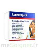 LEUKOTAPE K Sparadrap noir 5cmx5m à SAINT ORENS DE GAMEVILLE