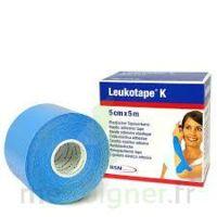 LEUKOTAPE K Sparadrap bleu ciel 5cmx5m à SAINT ORENS DE GAMEVILLE