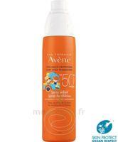 Avène Eau Thermale Solaire Spray Enfant 50+ 200ml à SAINT ORENS DE GAMEVILLE