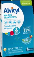Alvityl Sucette Mal Des Transports B/10 à SAINT ORENS DE GAMEVILLE