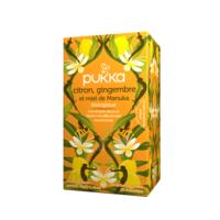 Pukka Bio Citron, Gingembre Et Miel De Manuka Tisane Immunité Citron Gingembre Miel De Manuka 20 Sachets à SAINT ORENS DE GAMEVILLE