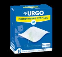 Urgo Compresse Stérile Non Tissée 10x10cm 10 Sachets/2 à SAINT ORENS DE GAMEVILLE
